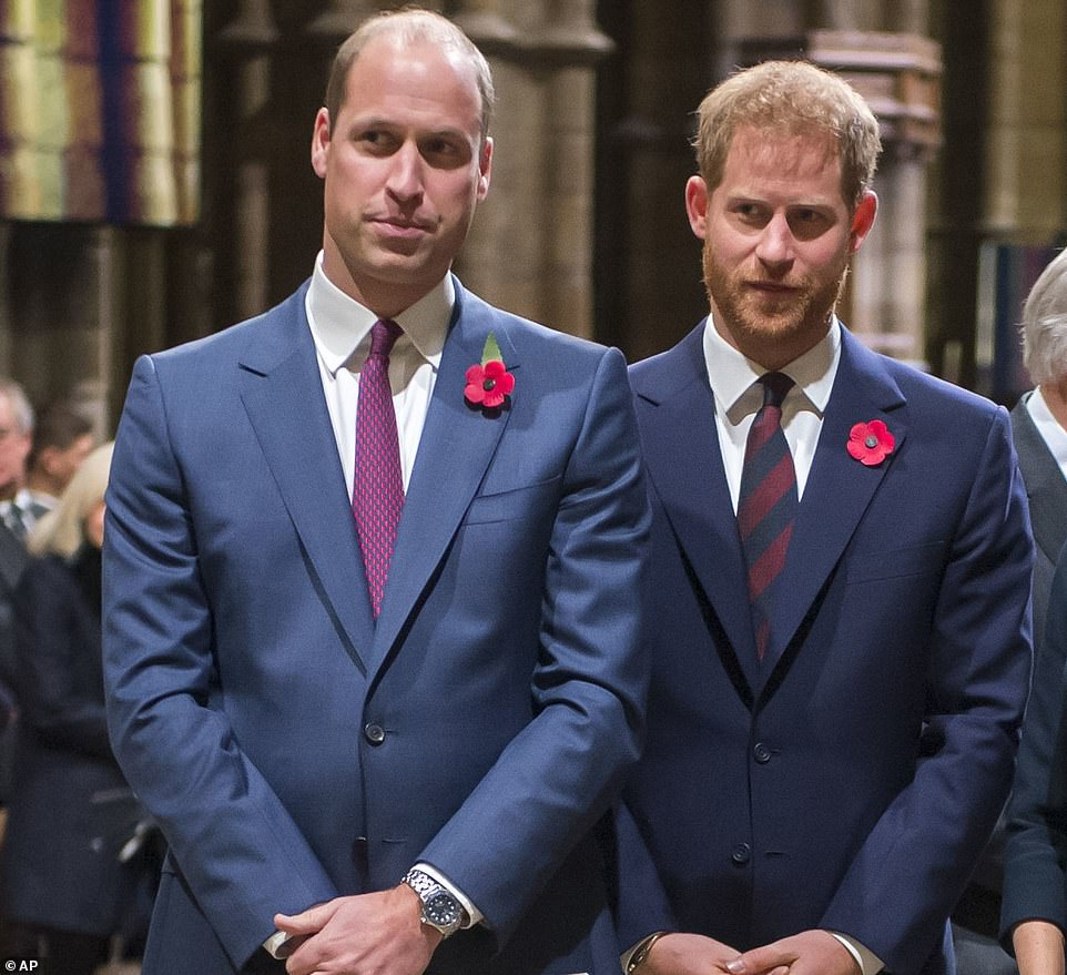 Prince William is desperately sad that the once close relationship he enjoyed with Prince Harry has been wrecked, it was claimed by a friend on Saturday night