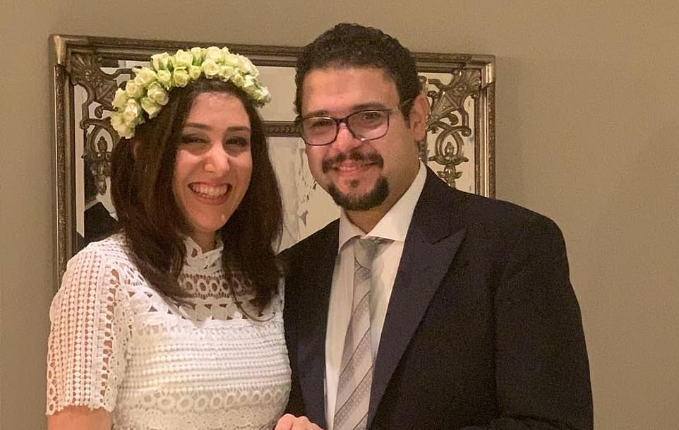 Newlywed Tahmasebi, 35, from Chiswick, west London, was celebrating his marriage to bride Niloofar Ebrahim (pictured) in Iran when the pair perished in the Ukrainian Airlines tragedy