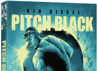 Arrow Video has announced its 4K Ultra HD Blu-ray release of Vin Diesel's 'Pitch Black'