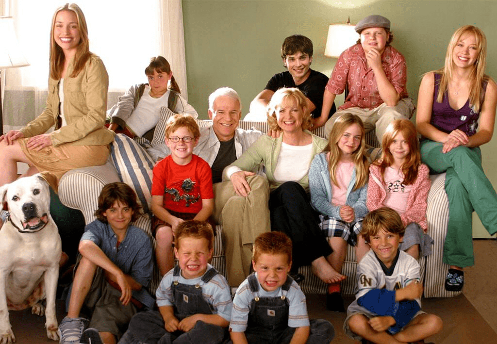 Hilary Duff and Her Cheaper by the Dozen Cast Reunion on Instagram