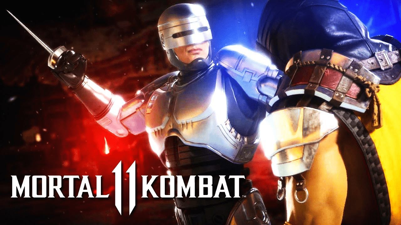 mortal kombat 11 aftermath - Robocop