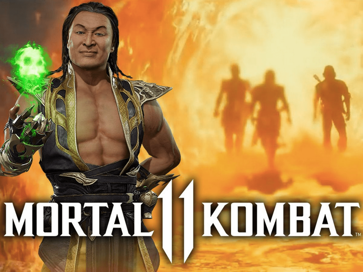 mortal kombat 11 aftermath - Shang Tsung