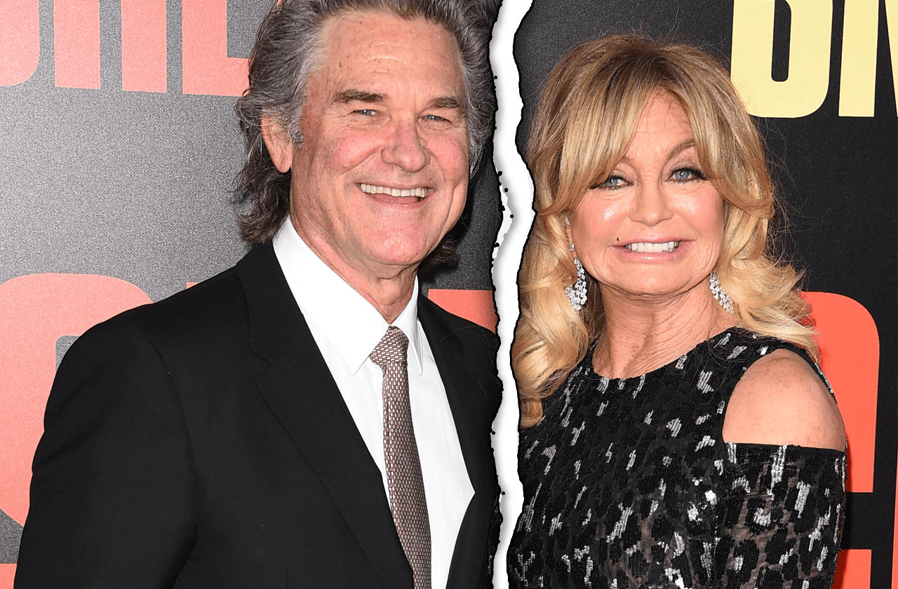 who is goldie hawn married to