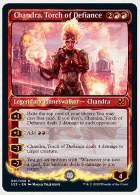 Magic The Gathering Core 2021 Reveals  The Chandra Signature Spellbook - 2