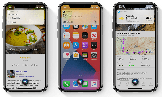 iOS 14 Siri New Look and Design