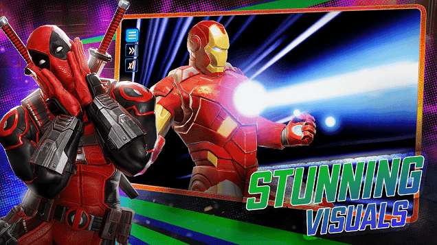 MARVEL Strike Force sur PC