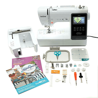Brother Computerized Sewing and Embroidery Machine from Walmart